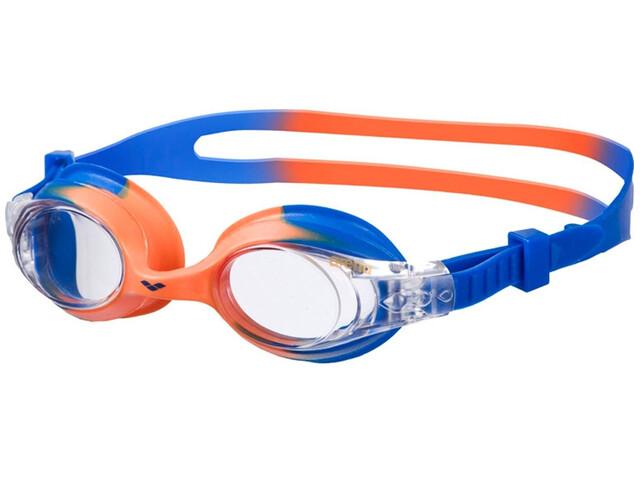 arena X-Lite Goggles Kids blue orange/clear